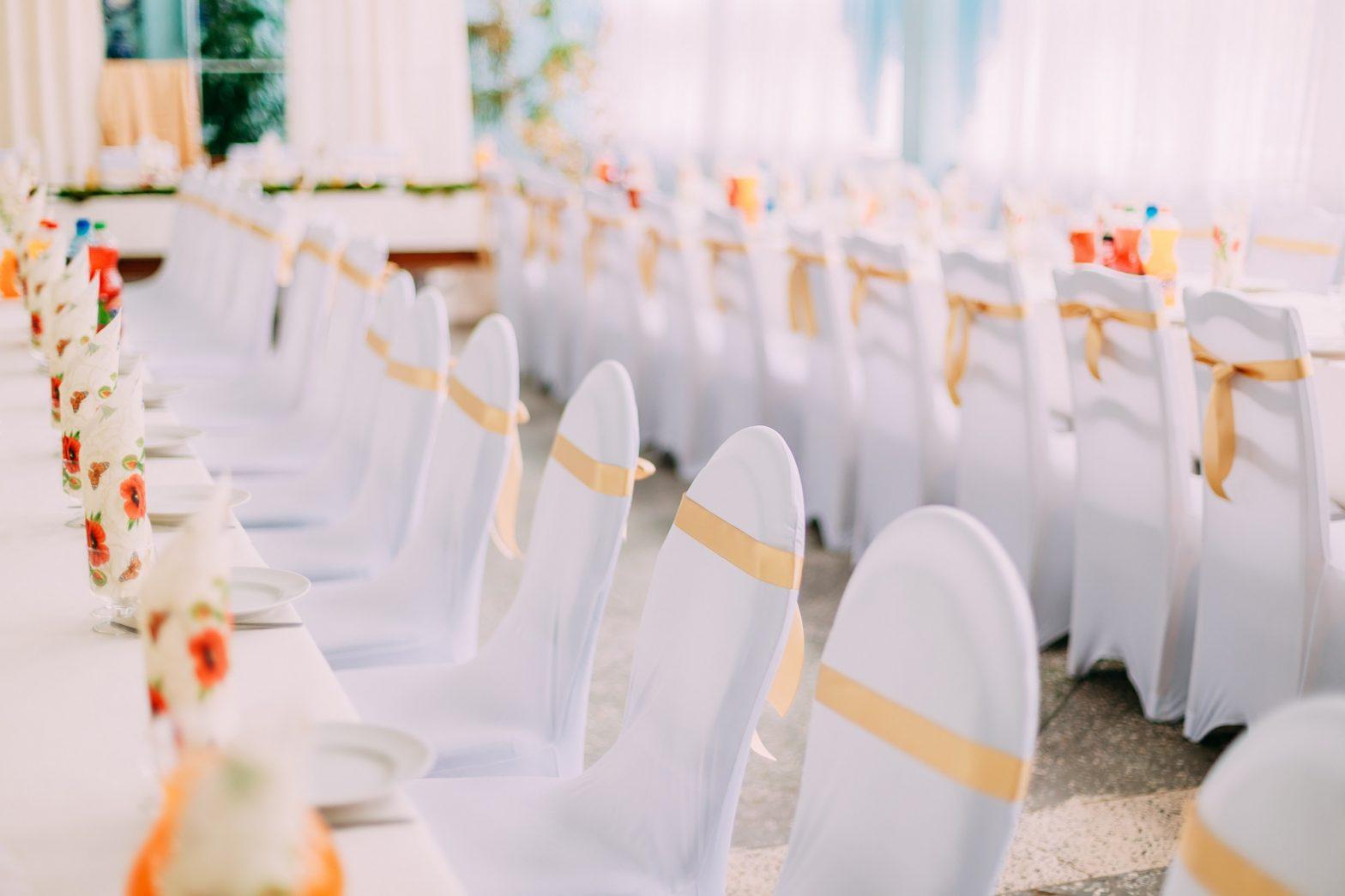 housse de chaises de mariage